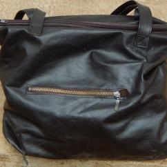 Kobe Leather Handbag back view